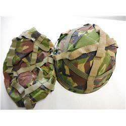 EUROPEAN MILITARY HELMET WITH COVERS
