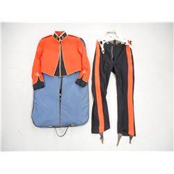 OFFICERS (MESS) DRESS COAT, VEST & PANTS