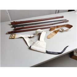 ASSORTED SWORD SCABBARDS