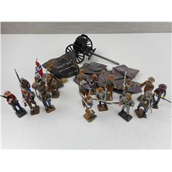 ASSORTED MILITARY/ CIVIL WAR MINITURES
