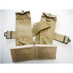 CANVAS BELT WITH POUCHES & COMPRESSED TRIOXANE