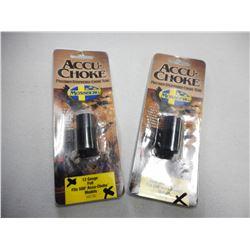 ACCU-CHOKE MOSSBERG 12 GA CHOKE TUBES