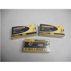EMPTY ANTIQUE DOMINION/CIL 32 S&W BLANK BOXES