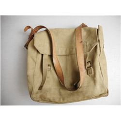 CANVAS MILITARY BAG OF CLEANING ACCESSORIES