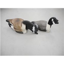 ASSORTED GOOSE SHELL DECOYS