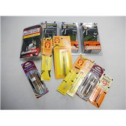 ASSORTED PISTOL CALIBER CLEANING ACCESSORIES