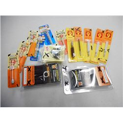 ASSORTED RIFLE CALIBER CLEANING ACCESSORIES