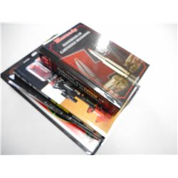 ASSORTED RELOADING BOOKS & TARGETS