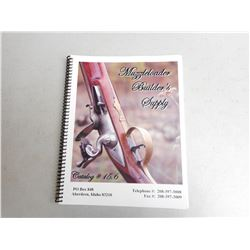 MUZZLELOADER BUILDER'S SUPPLY CATALOG & LEATHER BELT