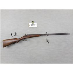 BELGIUM RIMFIRE  , BLACKPOWDER , 8MM FLOBERT , WALL HANGER PARTS GUN, OCTAGONAL BARREL, MISSING THE