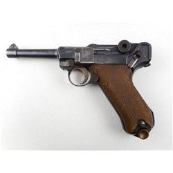 WWI ERA, LUGER , MODEL: P08 , CALIBER: 9MM LUGER
