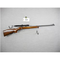 J.G. ANSCHUTZ , MODEL: SINGLE SHOT  , CALIBER: 22LR