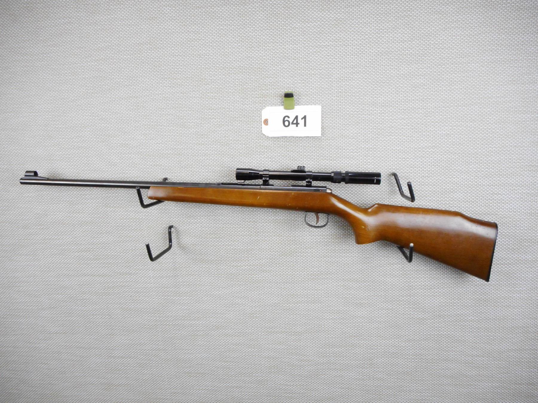 J G  ANSCHUTZ , MODEL: SINGLE SHOT , CALIBER: 22LR
