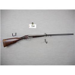 WEBLEY & SCOTT  , MODEL: SIDE BY SIDE BREAK ACTION SHOTGUN  , CALIBER: 12GA X 2 1/2""