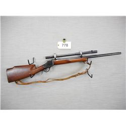 WINCHESTER , MODEL: 1885 REWORKED , CALIBER: 220 SWIFT