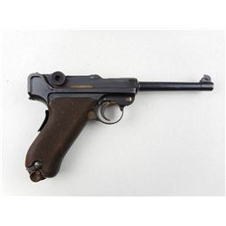 LUGER  , MODEL: 1906 SWISS SUNBURST  , CALIBER: 30 CAL LUGER