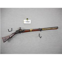 UNKNOWN FLINTLOCK  , CARBINE  , 69  CALIBER