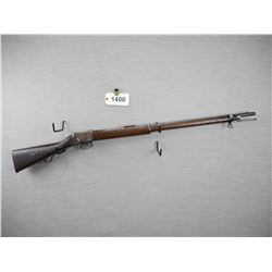MARTINI HENRY 	MODEL: MKIV RIFLE CLASS 1, CALIBER: 577-450 MARTINI HENRY