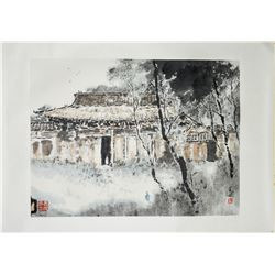 YANG SHANSHEN Chinese Watercolor Paper Roll