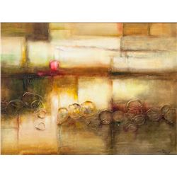 STEPHAN LAN Chinese Acrylic Canvas Abstract
