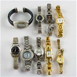Nine Assorted Working Women's Watches Condition
