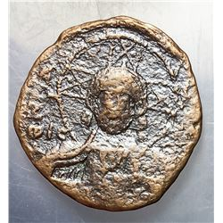 1025-1028 Byzantine Constantine VIII Copper Follis
