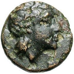 350 BC Mysia Gambrion Bronze Coin