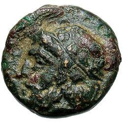 3rd Century Temnos Aiolis Bronze Coin