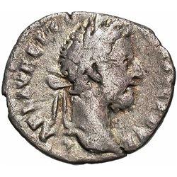 177-192 Roman Empire Commodus Silver Denarius