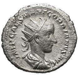 238- 244 Roman Empire Gordian III Silver Coin