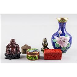 6 Assorted Chinese Decorative Items