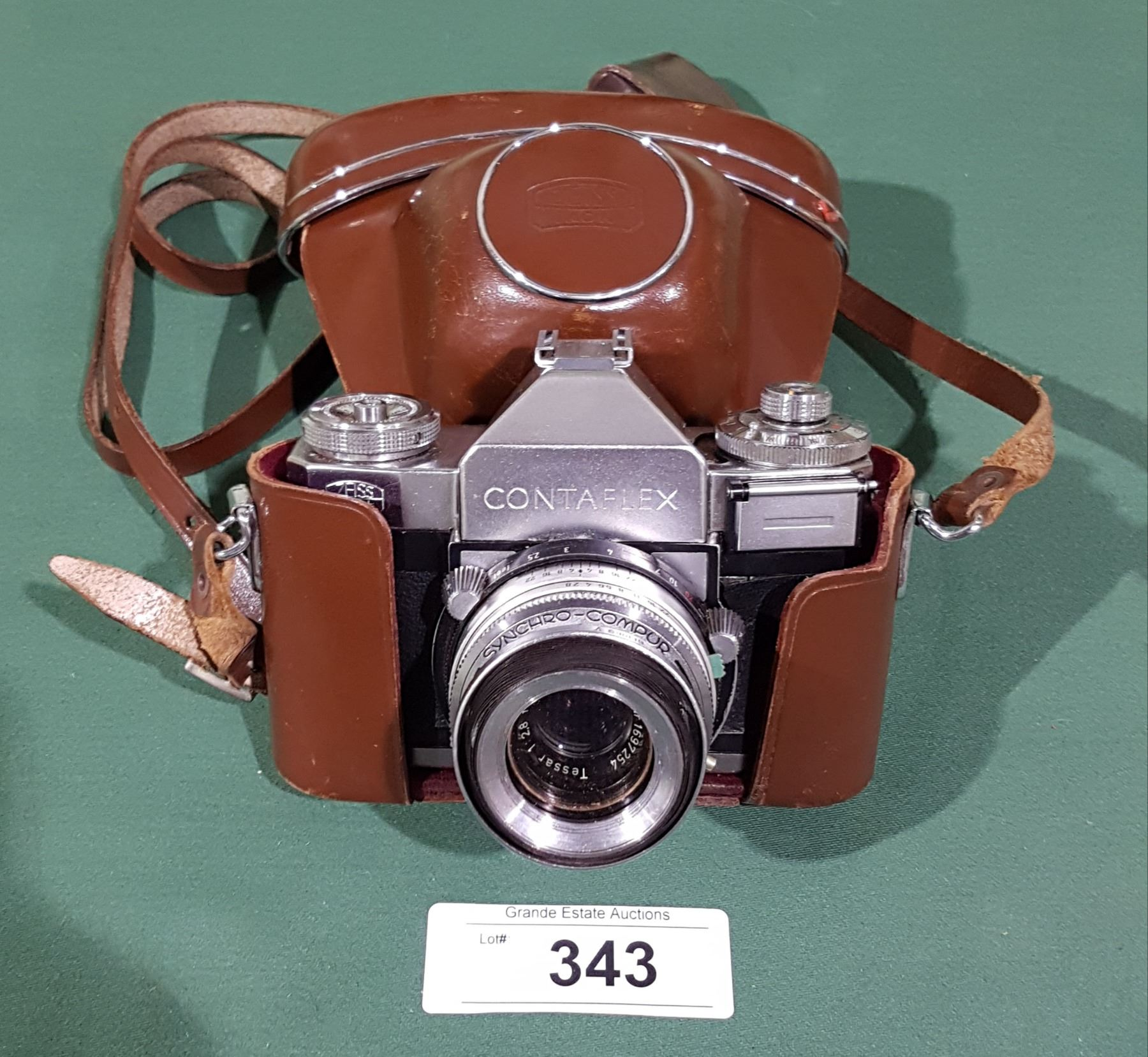 VINTAGE ZEISS ICON CONTAFLEX IV CAMERA