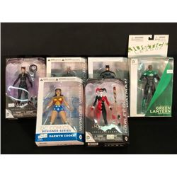 6 DC FIGURINES INC. JUSTICE LEAGUE, BATMAN AND MORE