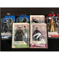 6 DC FIGURINES INC. ARROW AND BATMAN