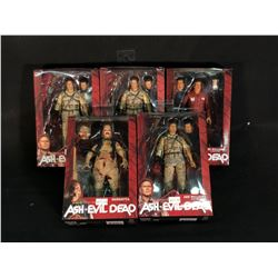 5 ASH VS EVIL DEAD FIGURINES