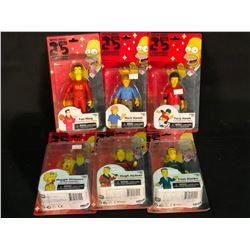 LOT OF ASSORTED SIMPSONS FIGURINES