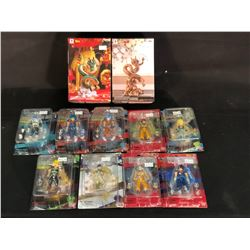 LOT OF ASSORTED DRAGONBALL Z FIGURINES AND MORE