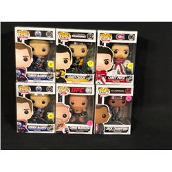 COLLECTION OF 6 POP! FIGURINES INC. 2X CONNOR MCDAVID, CAREY PRICE, SIDNEY CROSBY, JACK CRAWFORD