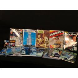 COLLECTION OF CANUCKS MEMORABILIA INC. VINTAGE TEAM MAGAZINES, SPORTS ILLUSTRATED ISSUES, OCT. 9,