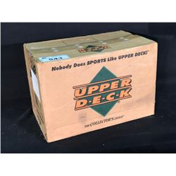 UPPER DECK FULL 20/36 COUNT BOX HOCKEY CARD SHIPMENT IN ORIGINAL MANUFACTURER BOX, LIMITED EDITION,