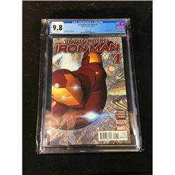 INVINCIBLE IRON MAN #1 (2015) CGC 9.8