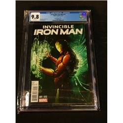 INVINCIBLE IRON MAN #1 (PICHELLI VARIANT) (2015) CGC 9.8