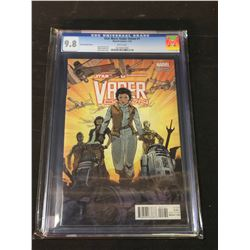 STAR WARS: VADER DOWN #1 (JONES VARIANT) (2016) CGC 9.8