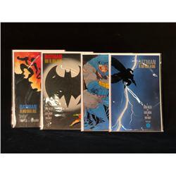 BATMAN: THE DARK NIGHT RETURNS #1-4 COMPLETE SET OF FRANK MILLER'S INSTANT CLASSIC (HIGHER GRADE)
