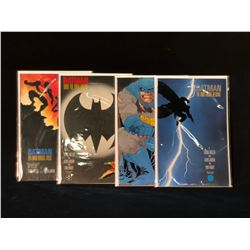 BATMAN: THE DARK NIGHT RETURNS #1-4 COMPLETE SET OF FRANK MILLER'S INSTANT CLASSIC (HIGHER GRADE)