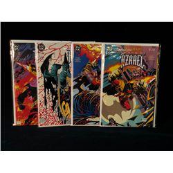 BATMAN: SWORD OF AZRAEL #1-4 - 1ST APP AZRAEL - COMPLETE SET (HIGHER GRADE AVG.) (1992)