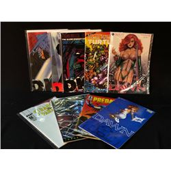 MISC. PUBLISHING LOT INCLUDES - DAWN #1-3 SET, DK2 #1-3 SET PREDATOR #1 (1ST APP PREDATOR),