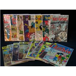 MIXED PUBLISHER SILVER AGE LOT - 17 BOOKS TOTAL (LOWER GRADE AVG) (1960S)
