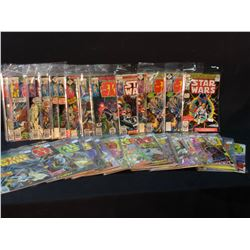 STAR WARS LOT - 53 ISSUES BETWEEN #1-85 (#1 IS THE MARVEL MOVIE SHOWCASE REPRINT)