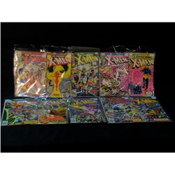 X-MEN #107-138 BRONZE AGE RUN OF 10 ISSUES - INCLUDES #S 107, 117, 118, 119,122, 124, 125, 126, 127